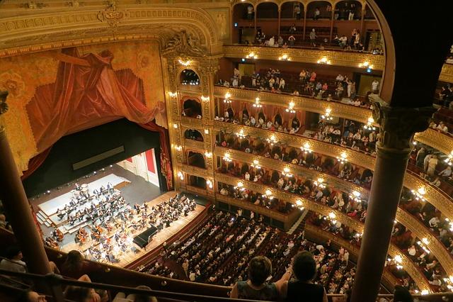 Visitando o Teatro Colón